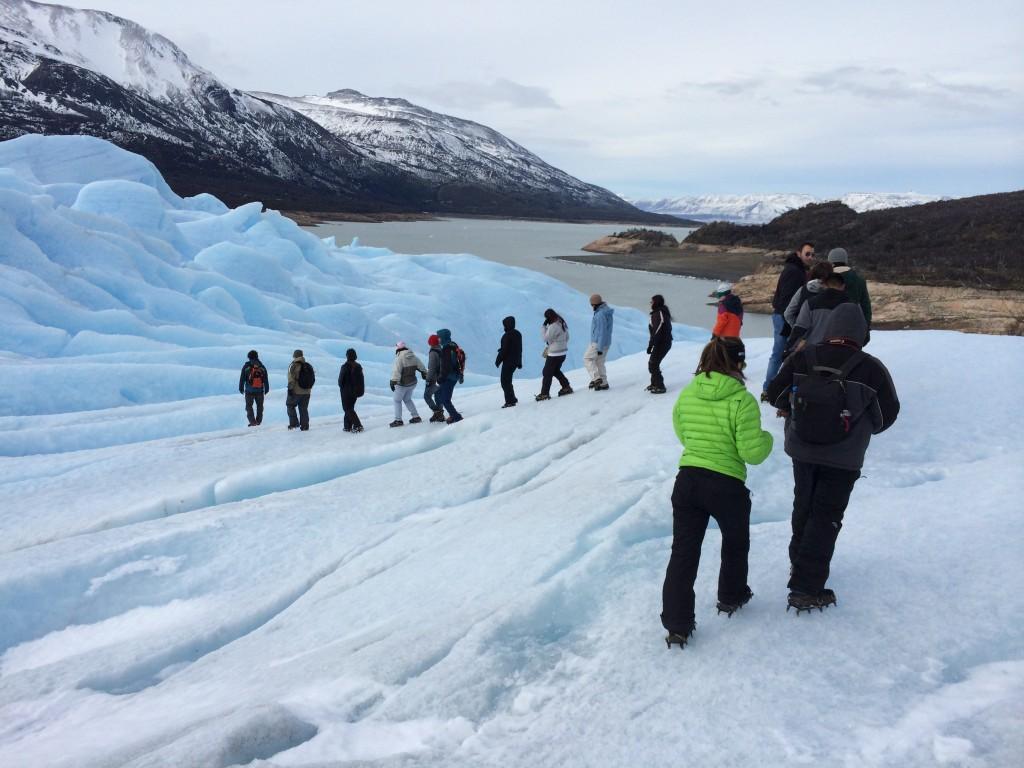 Minitrekking sobre o Glaciar