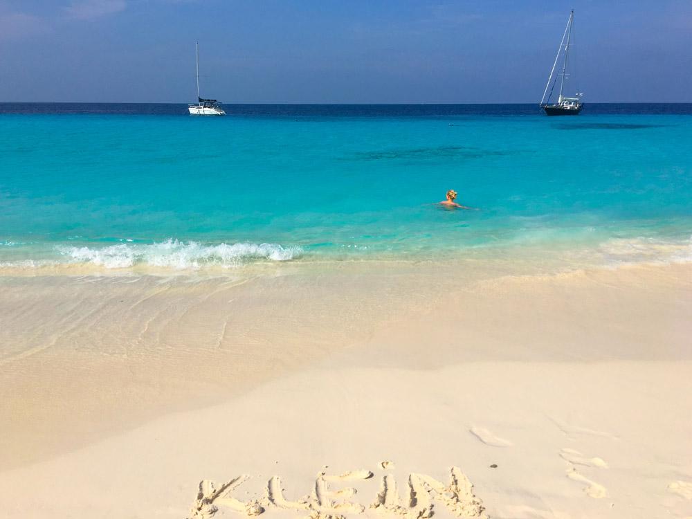 A praia mais bonita de Curaçao